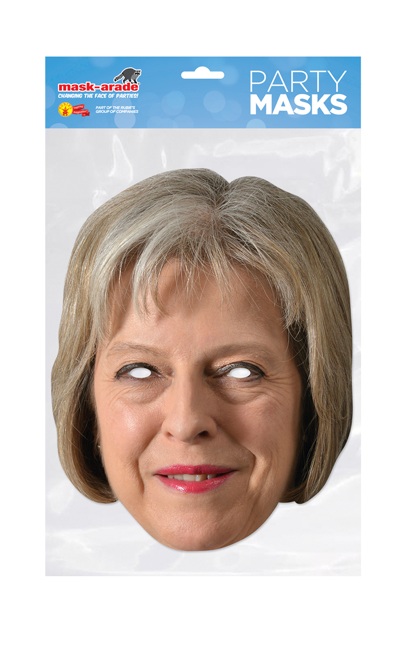 Theresa May Paper Facepiece Accessory