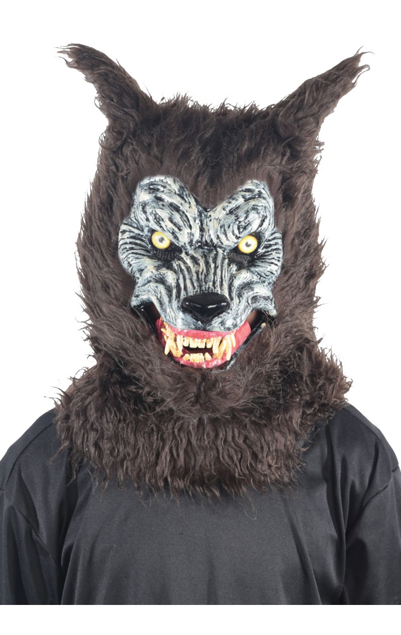 Werewolf Facepiece with Moving Mouth
