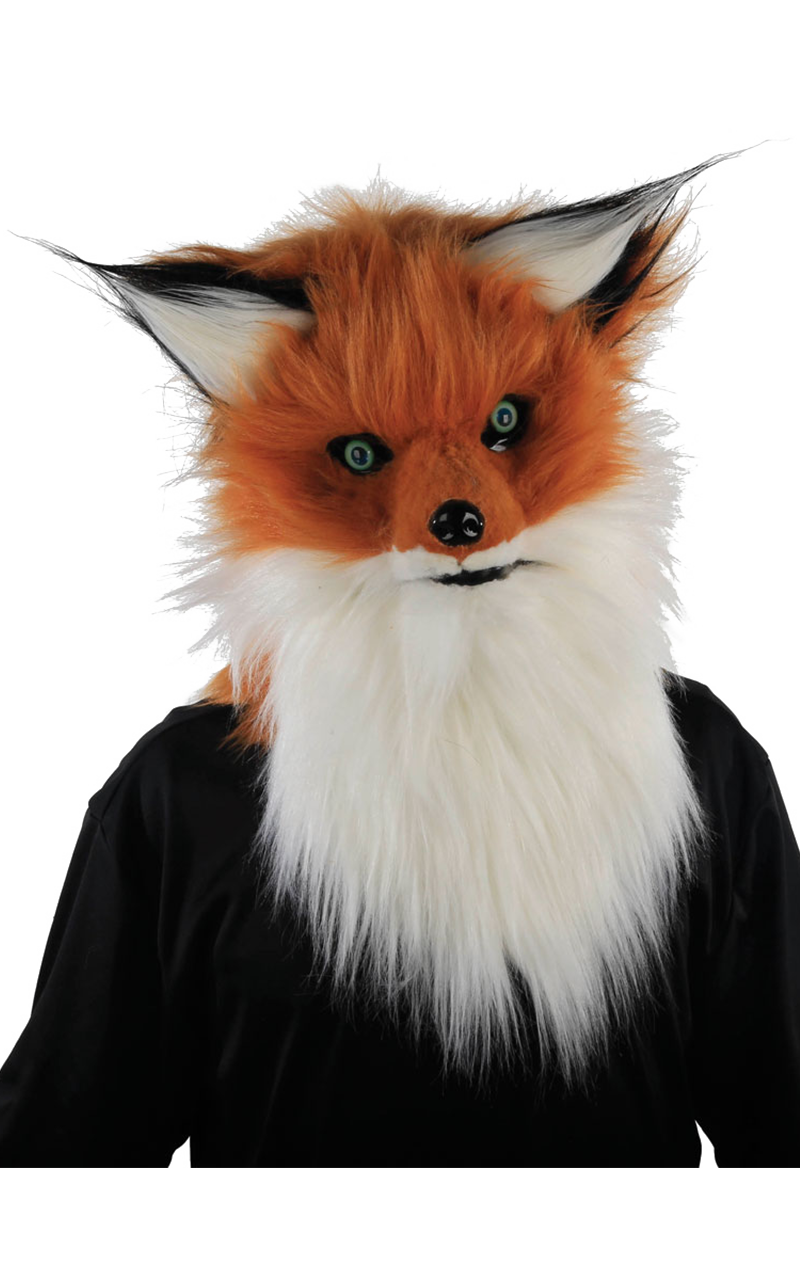 Fox Facepiece with Moving Mouth