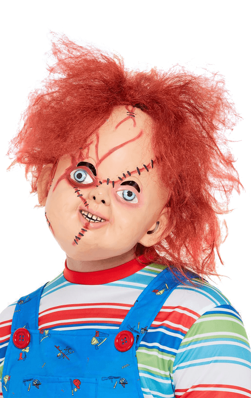 Latex Chucky Facepiece