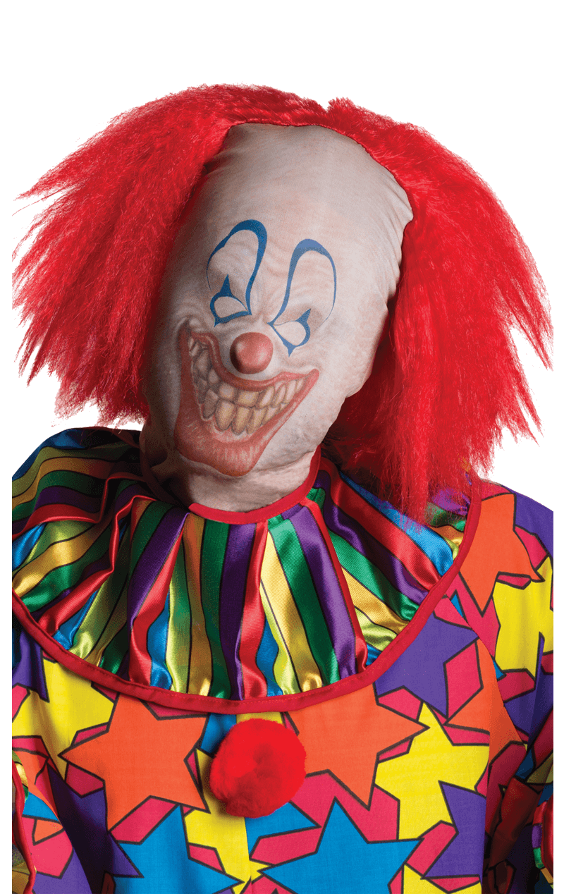 Horror Clown Skinsuit Facepiece
