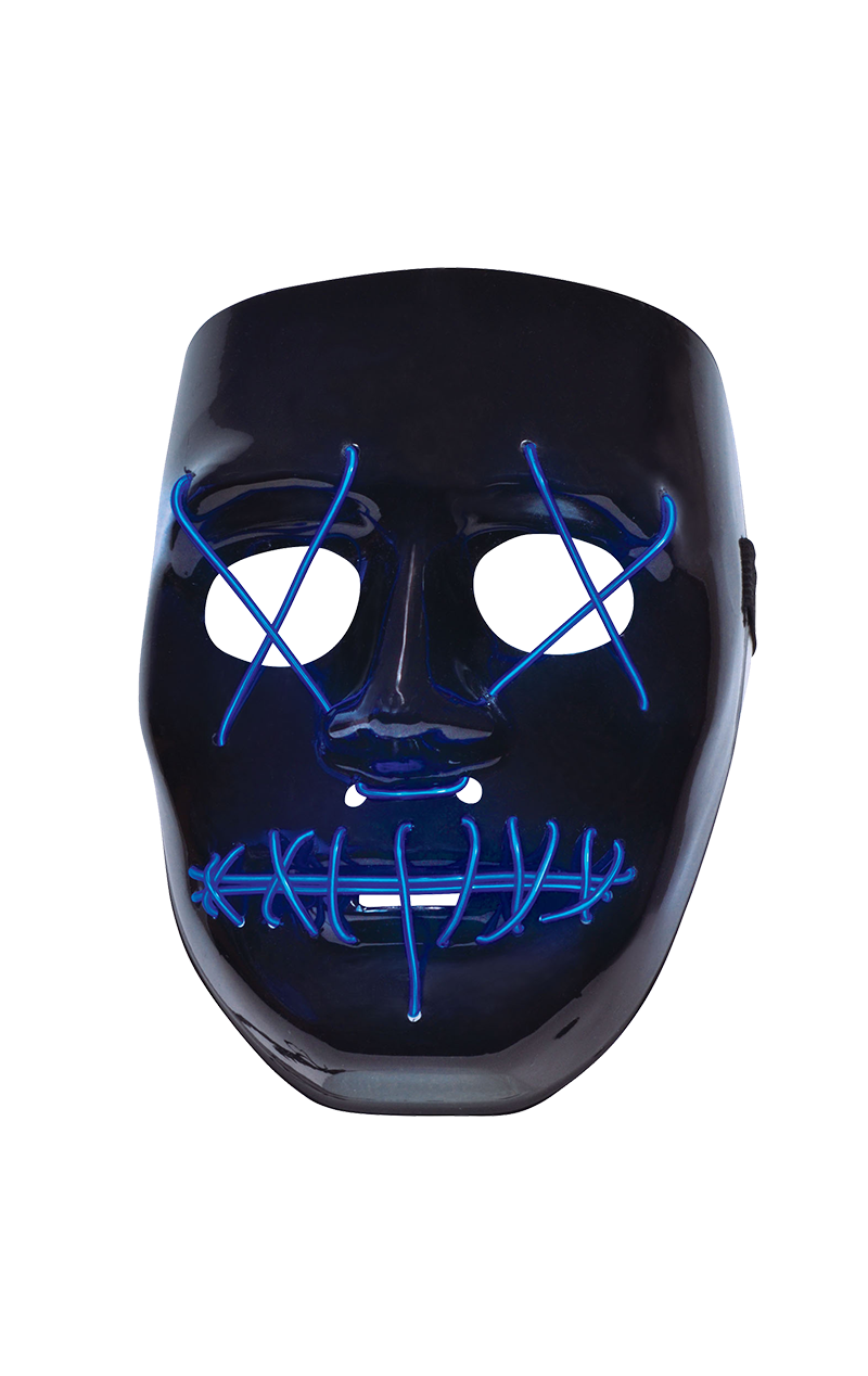 Light-Up Anarchy The Purge Facepiece