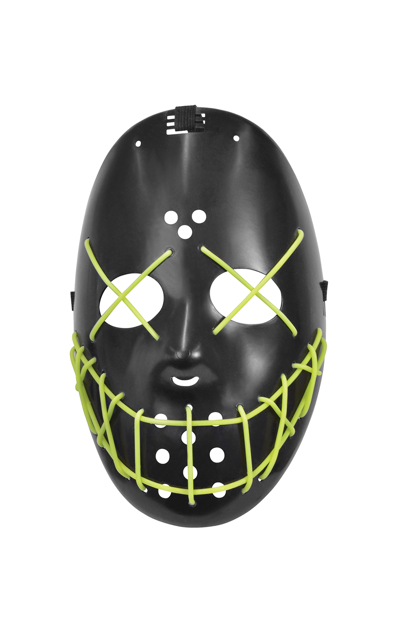 Anarchy Green Glow Purge Facepiece