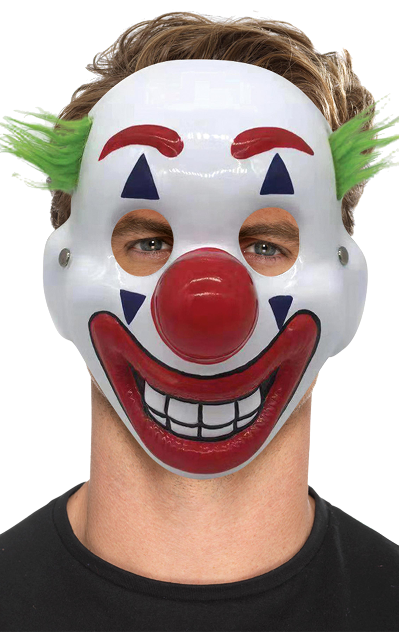 Joker Clown Facepiece