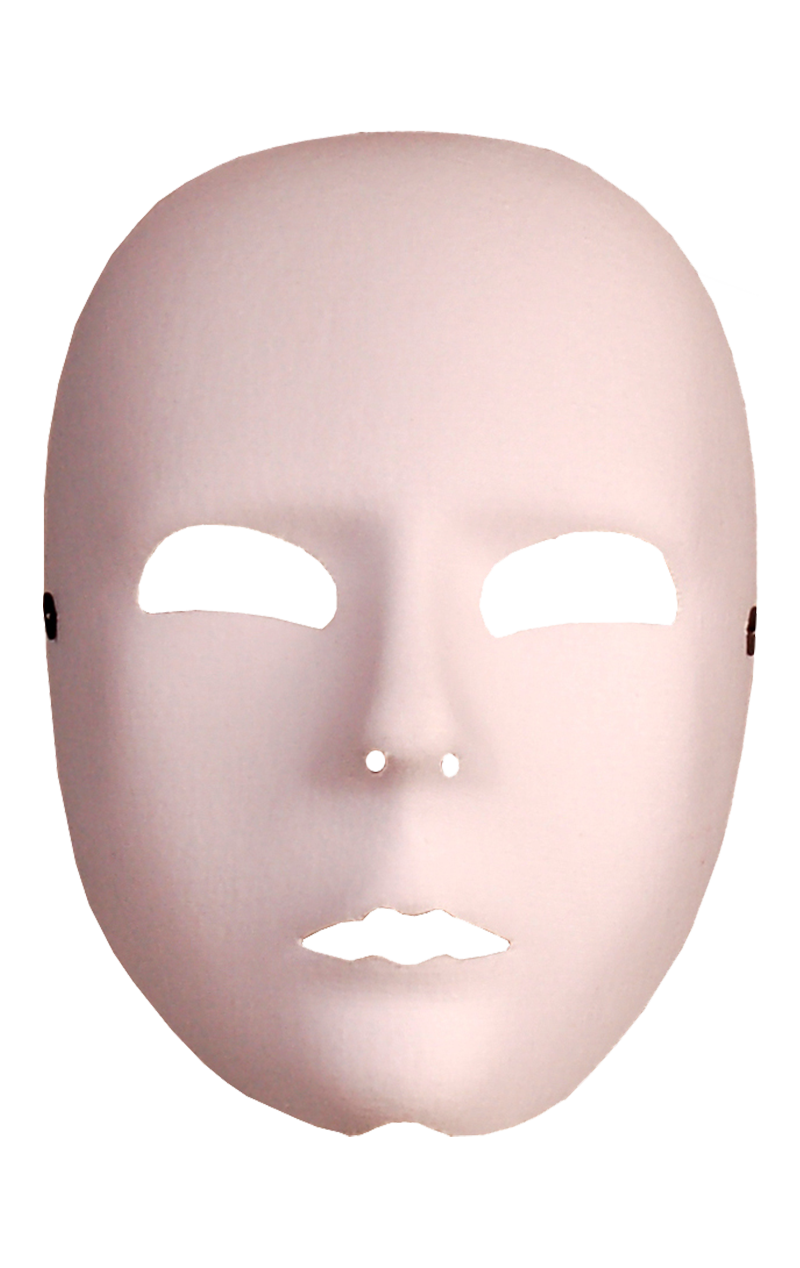 White Full Face Facepiece