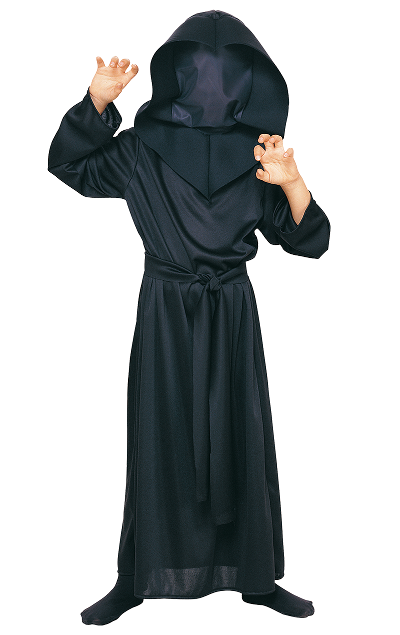 Kids Hidden Face Robe Costume