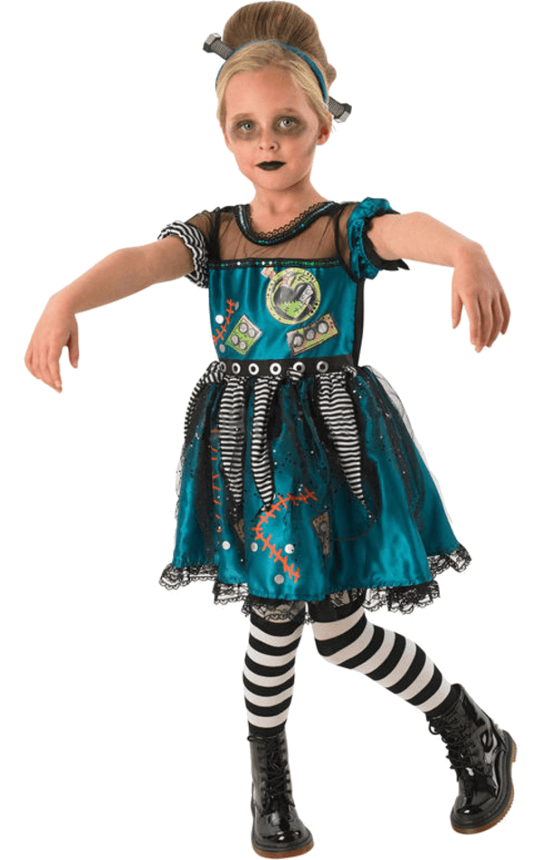 Kids Frankie Girl Costume