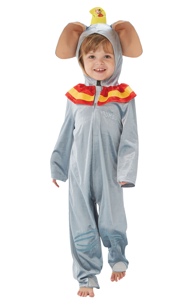 Kids Unisex Dumbo Costume