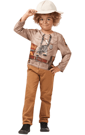 Kids Dinosaur Explorer Costume