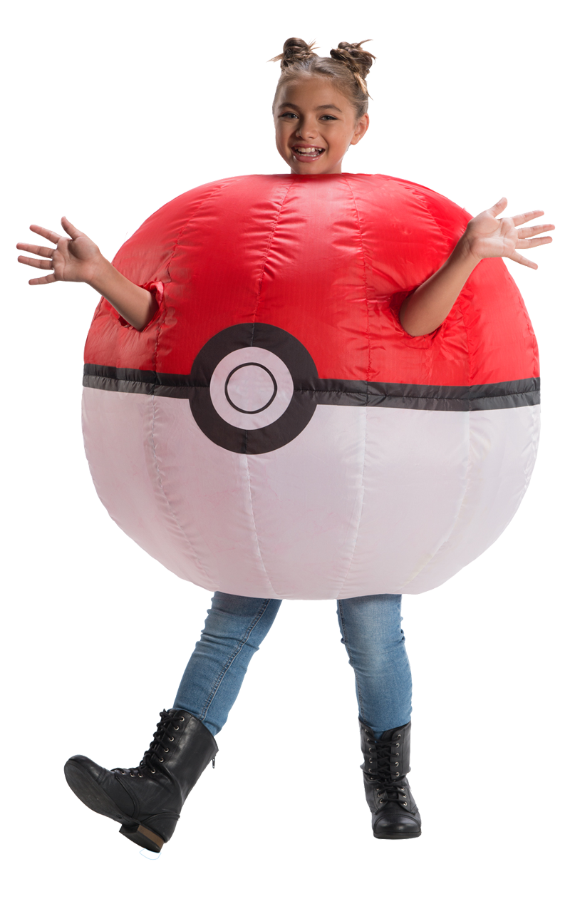 Kids Inflatable Poke Ball Costume