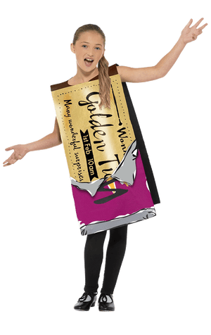 Kids Winning Wonka Bar Costume