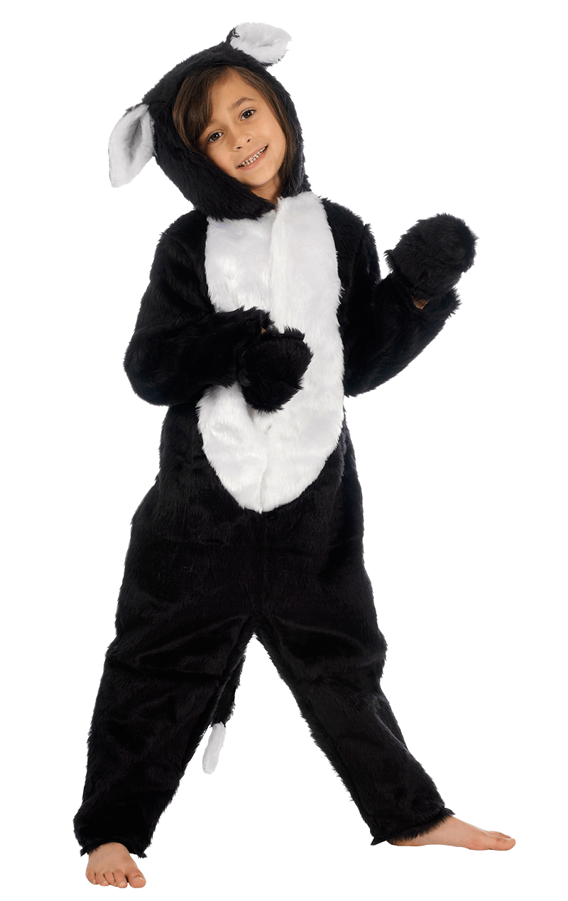 Kids Lucky Black Cat Costume