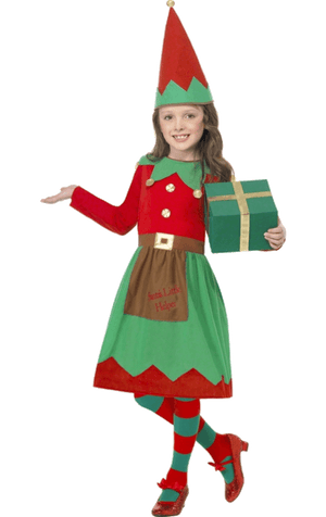 Kids Elf Dress Costume