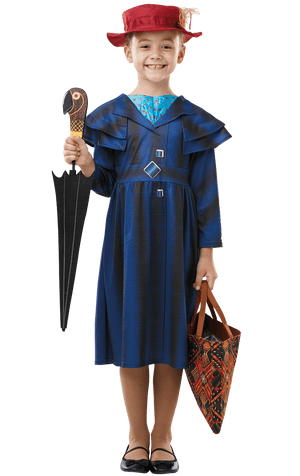 Kids Mary Poppins Returns Costume