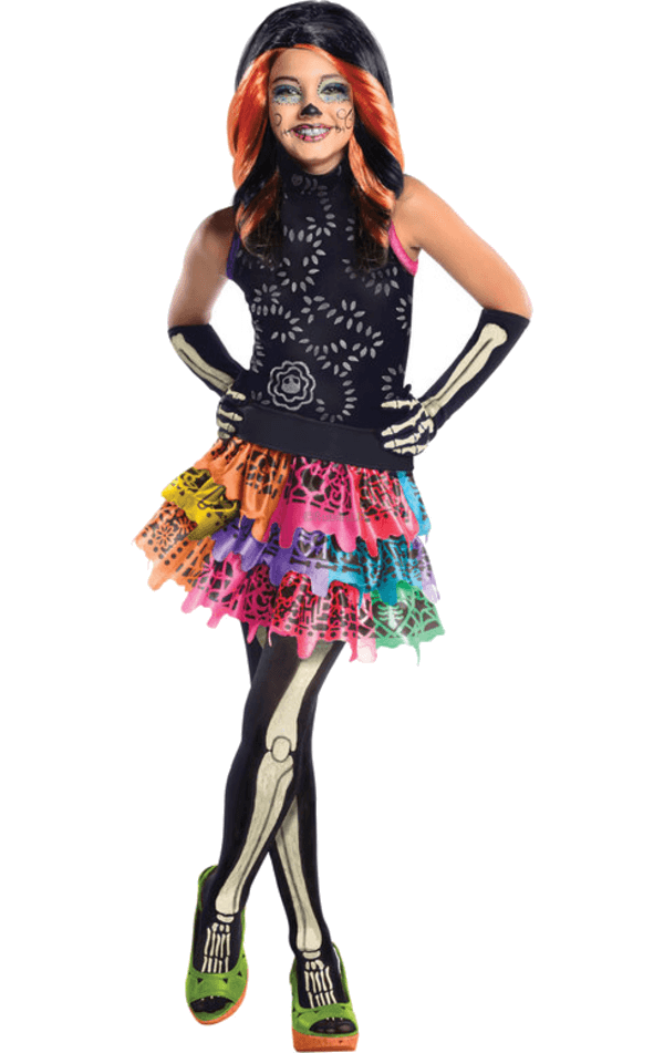 Kids Monster High Skelita Costume