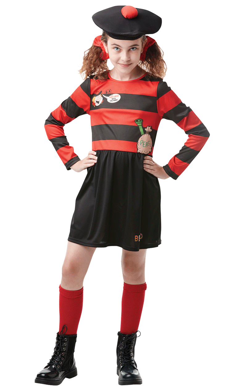 Kids Minnie the Minx Costume