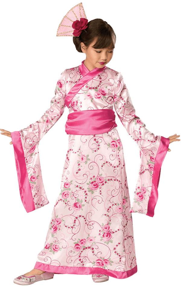 Kids Asian Princess Costume