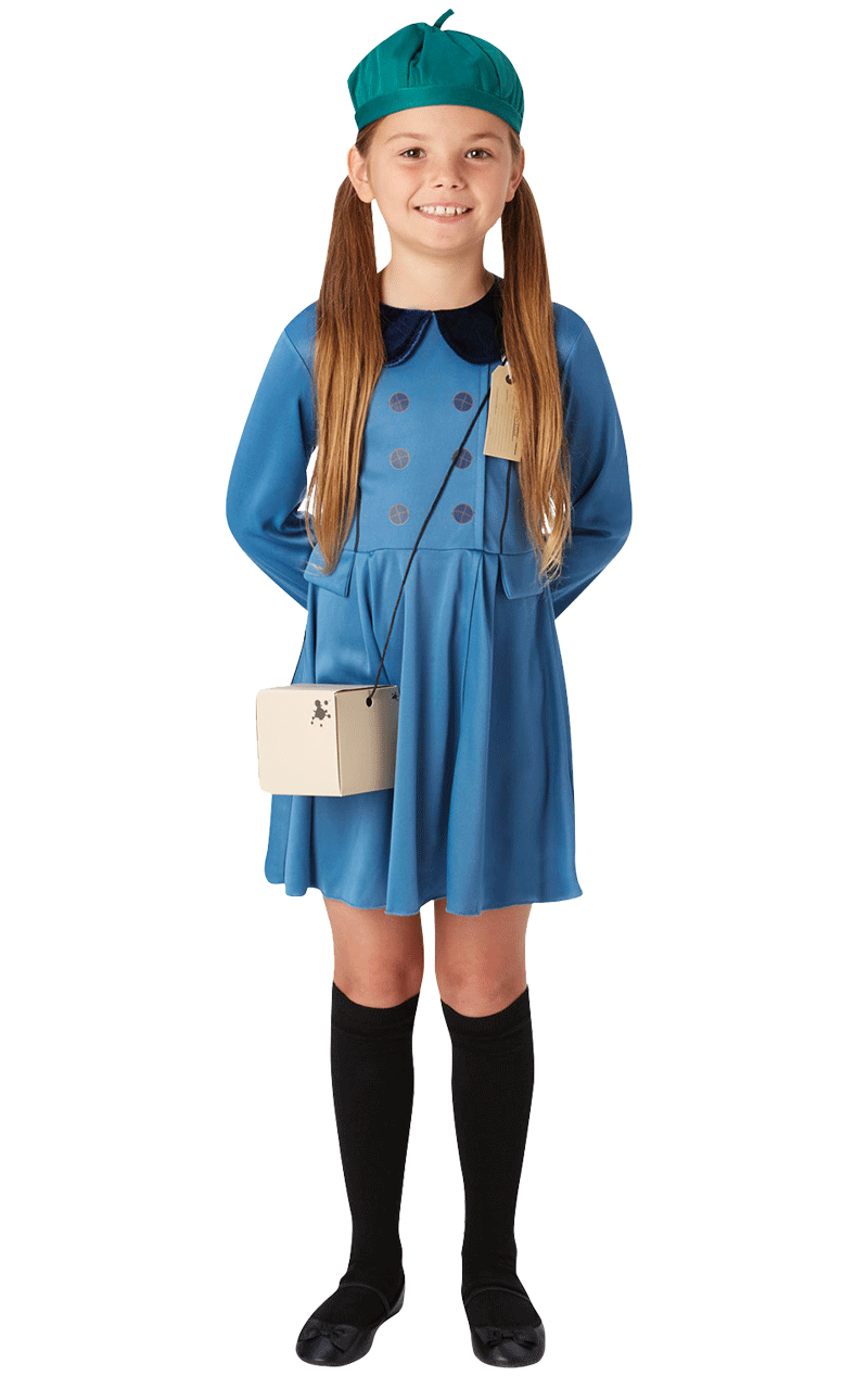 Kids Evacuee Girl Costume