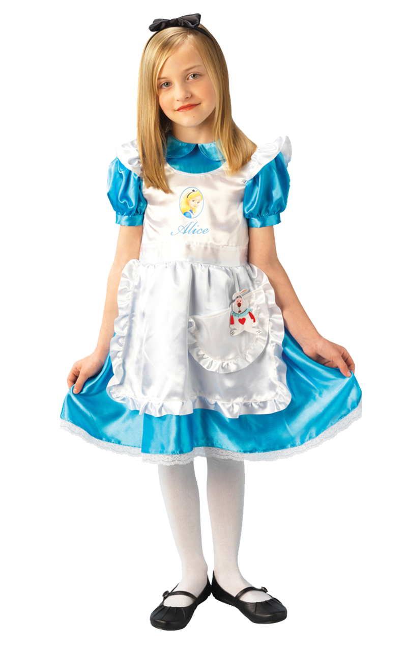 Kids Alice Deluxe Costume