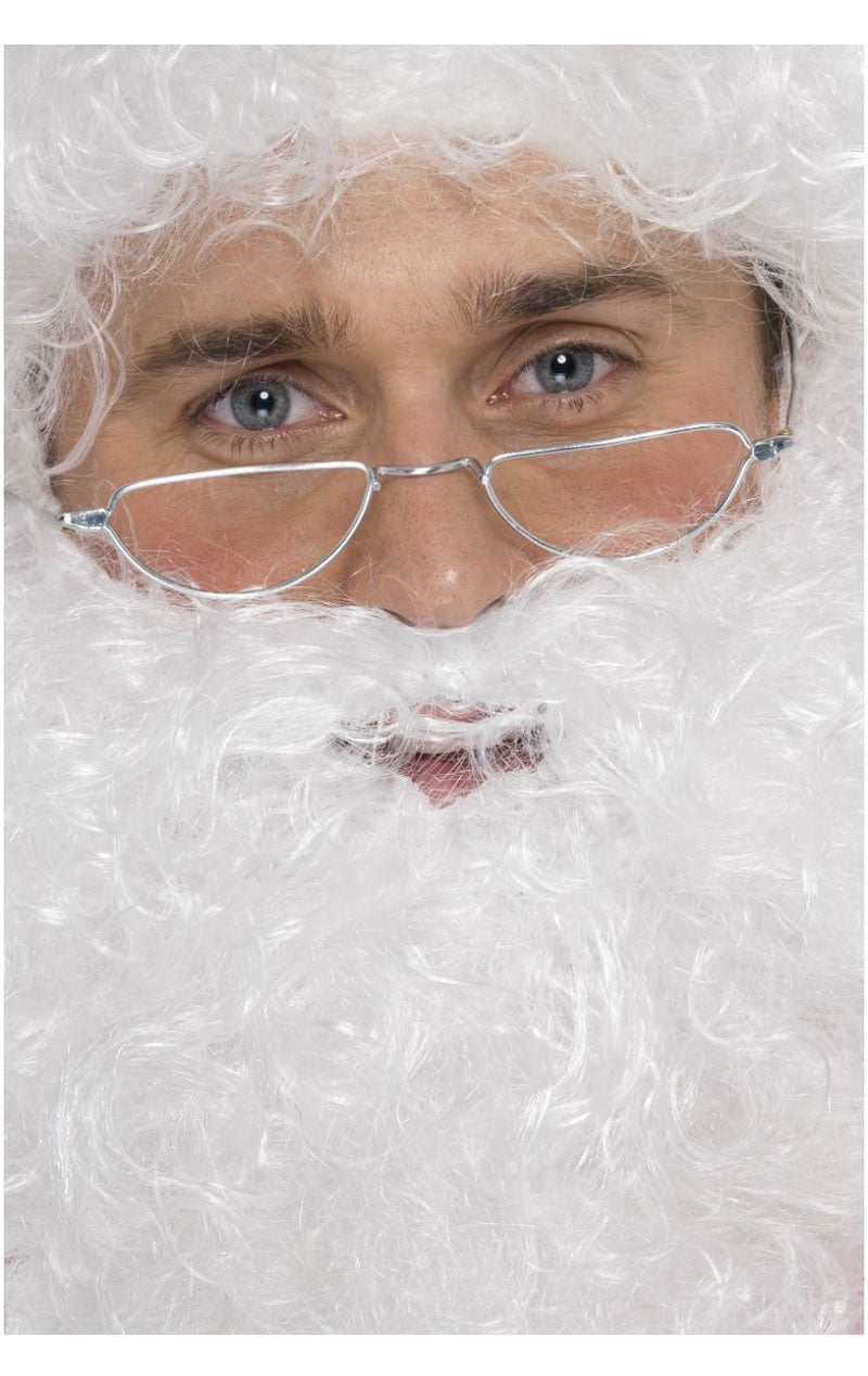 Santa Half Moon Glasses