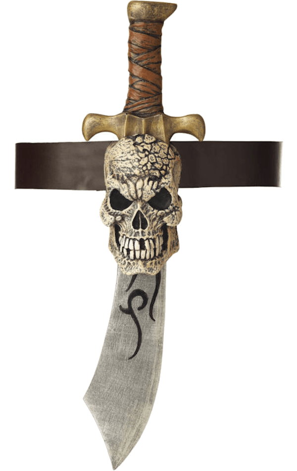 Pirate Sword & Skull Sheath