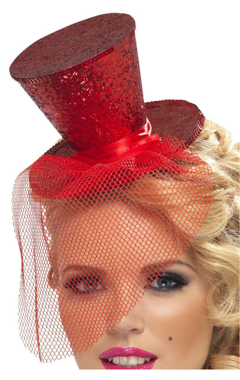 Mini Top Hat Red Accessory