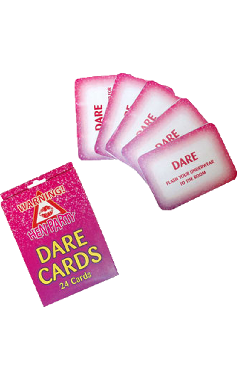 Dare Cards 24 pcs Girls Night