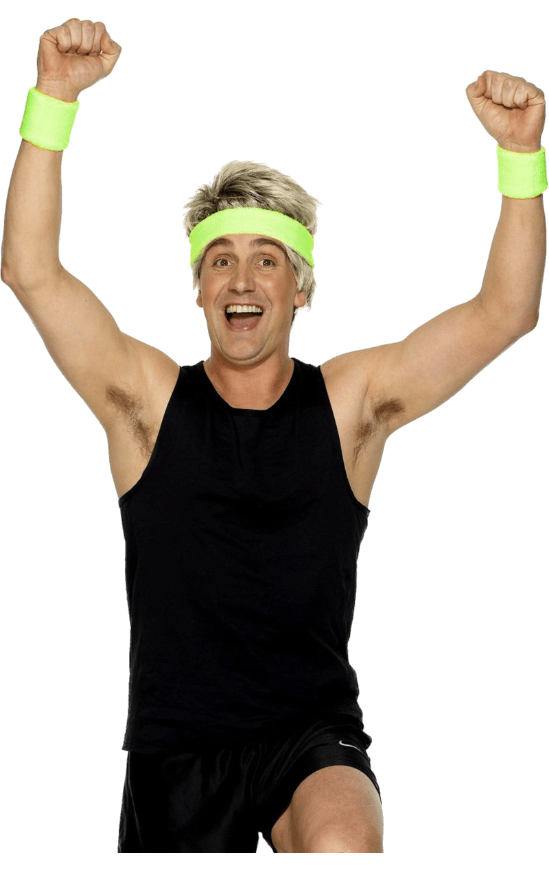 Sweatbands Green Accessory