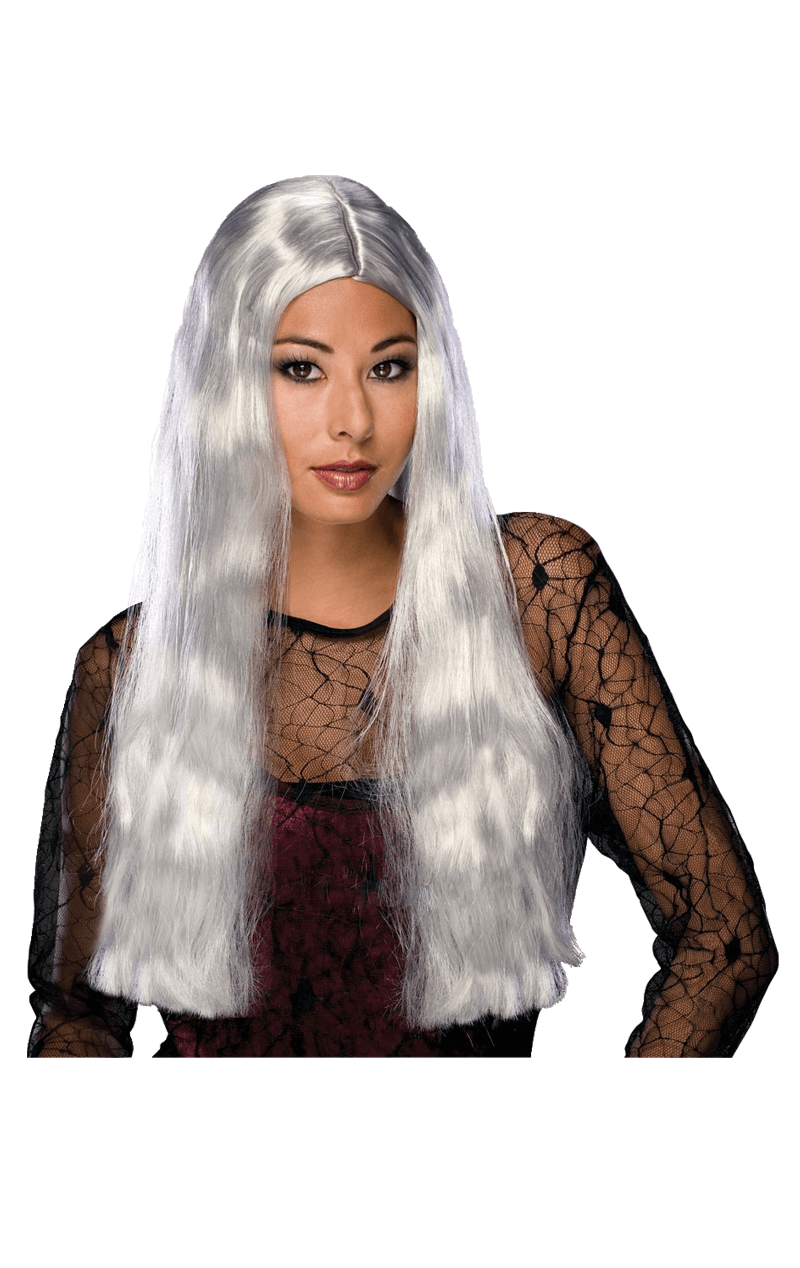 Witch Wig Grey
