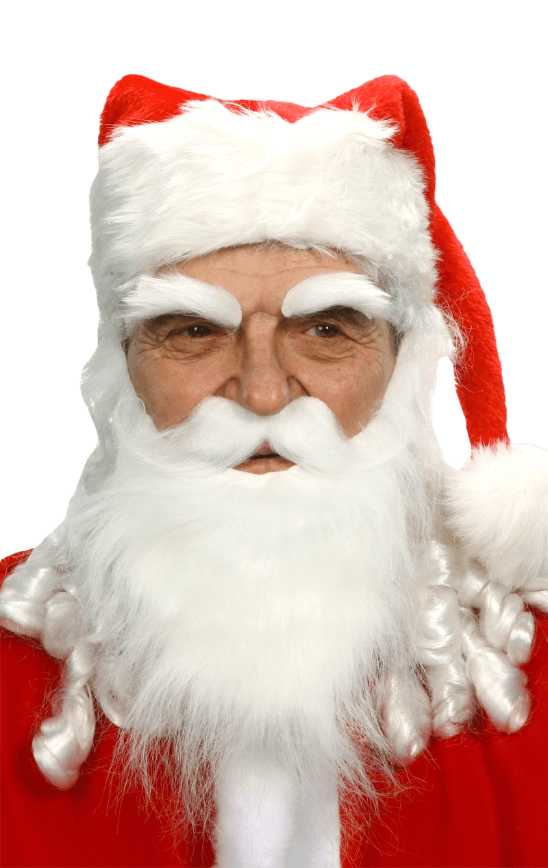 Santa Beard and Eyebrows Accessory