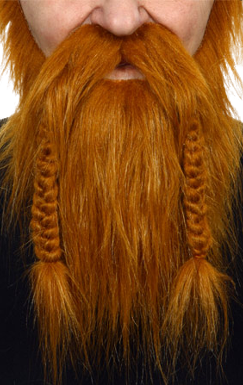 Viking Beard Auburn Accessory
