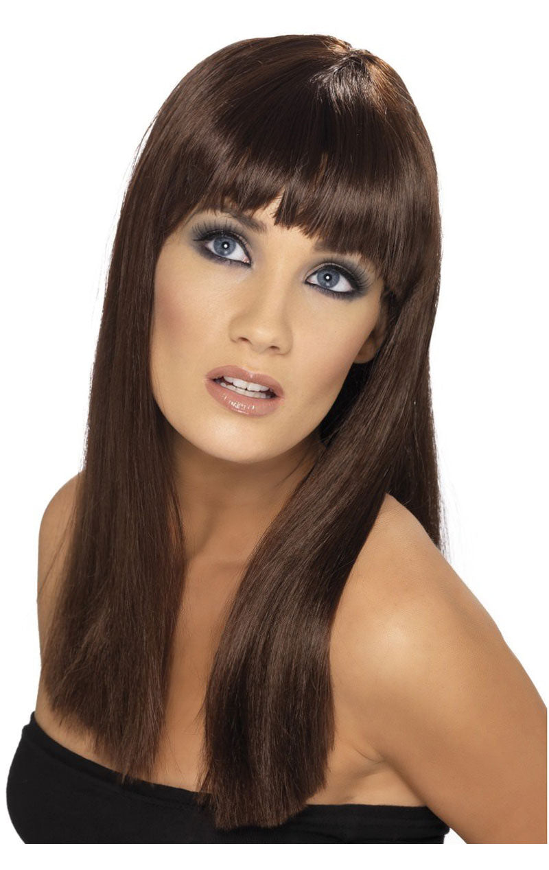 Glamourama Brown Wig