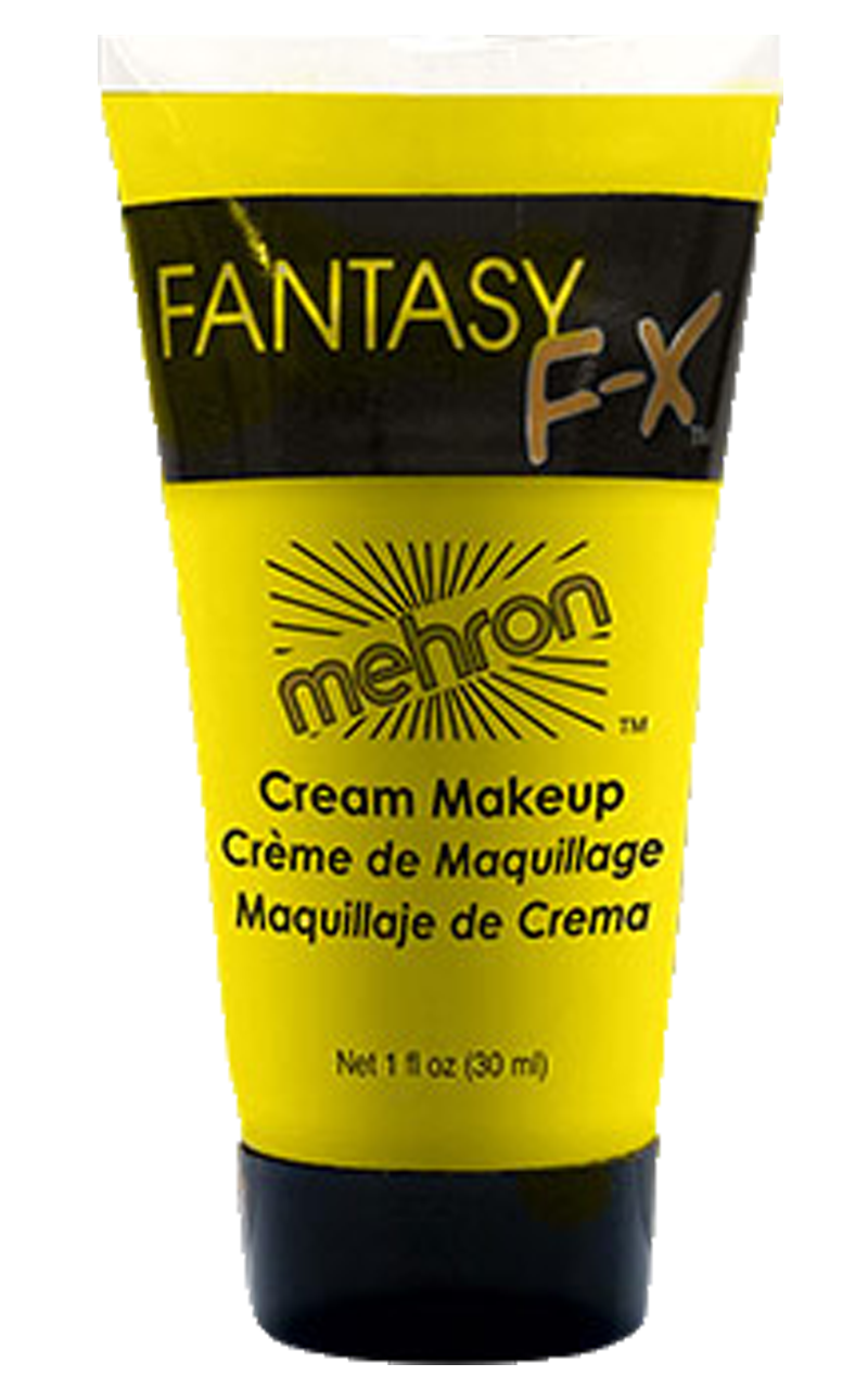 Yellow Mehron Face Paint Accessory