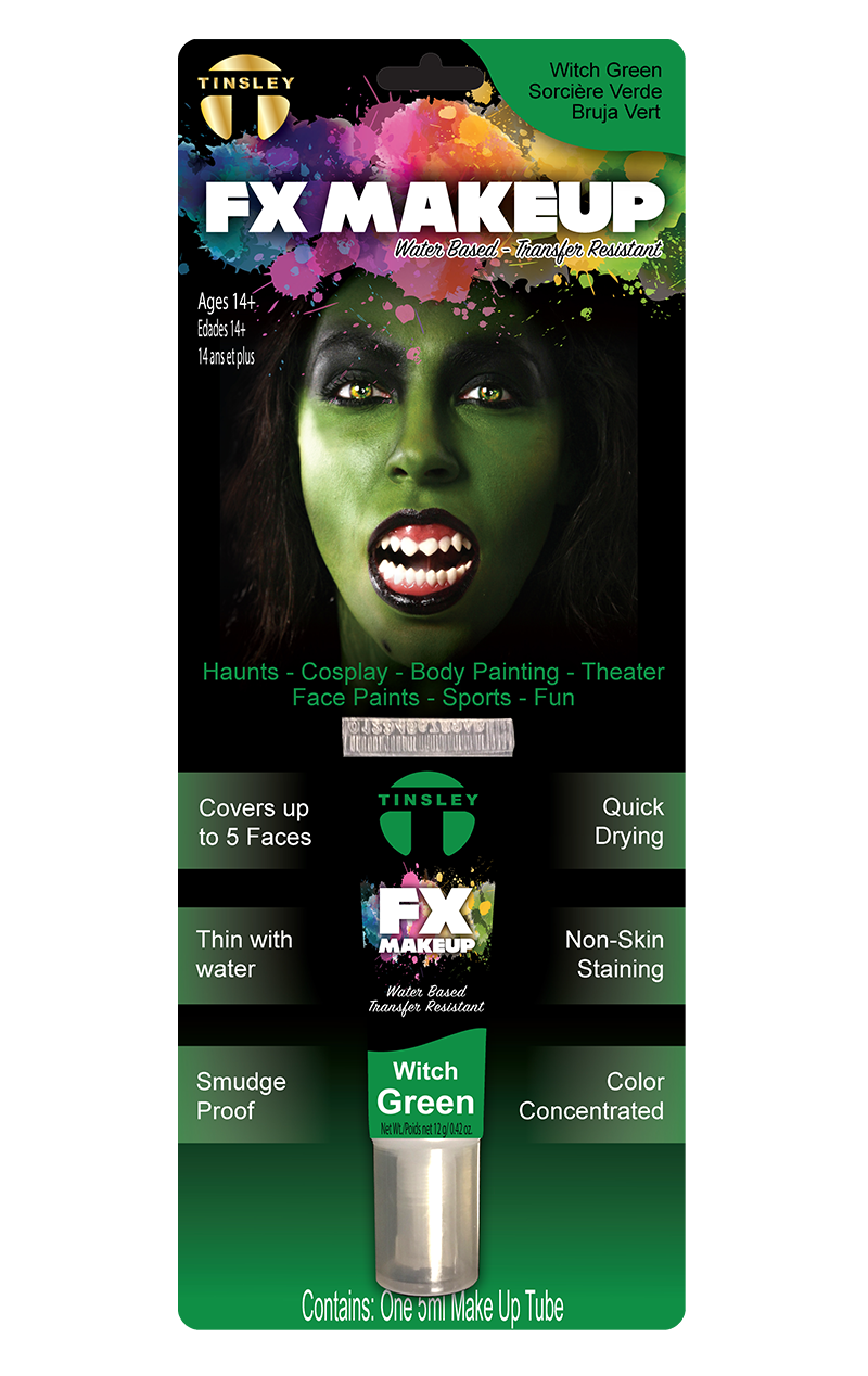 Green FX Face Paint