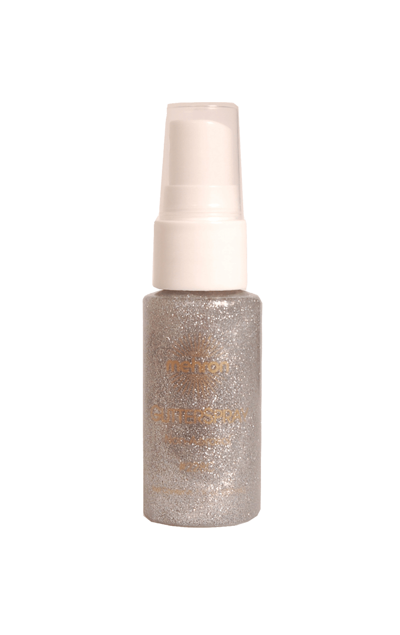 Body Glitter Spray Silver