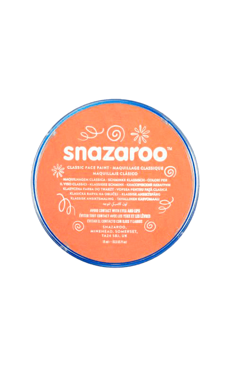 Light Orange Snazaroo Face Paint