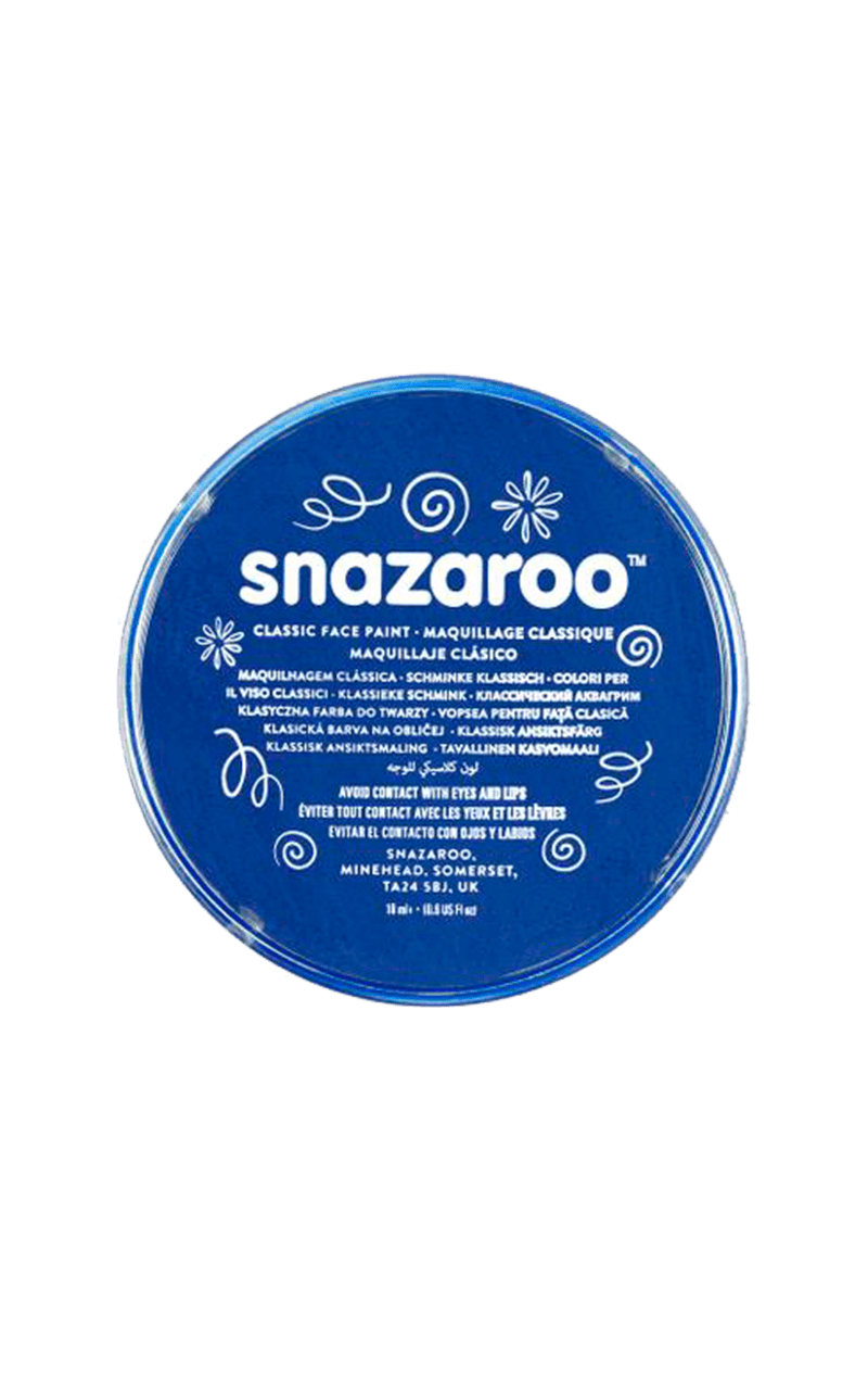 Blue Snazaroo Face Paint