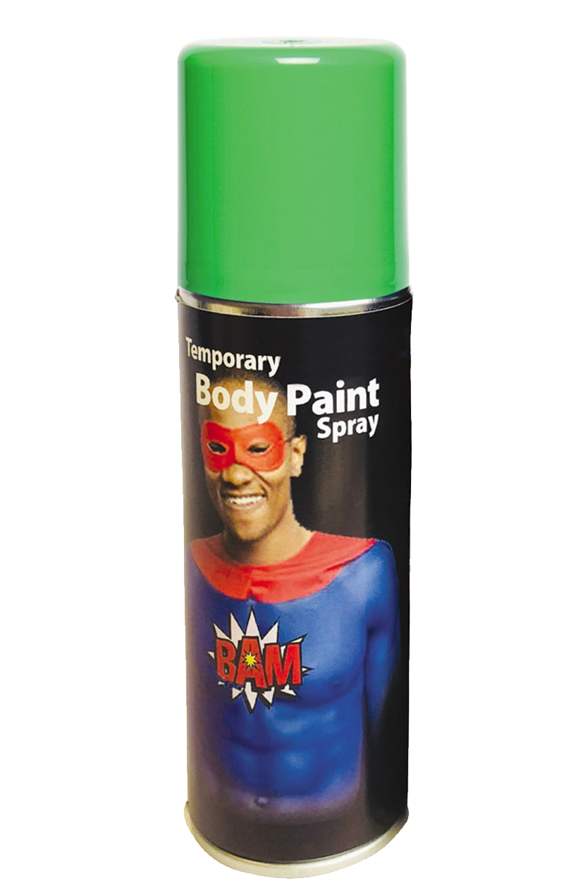 Green Body Spray
