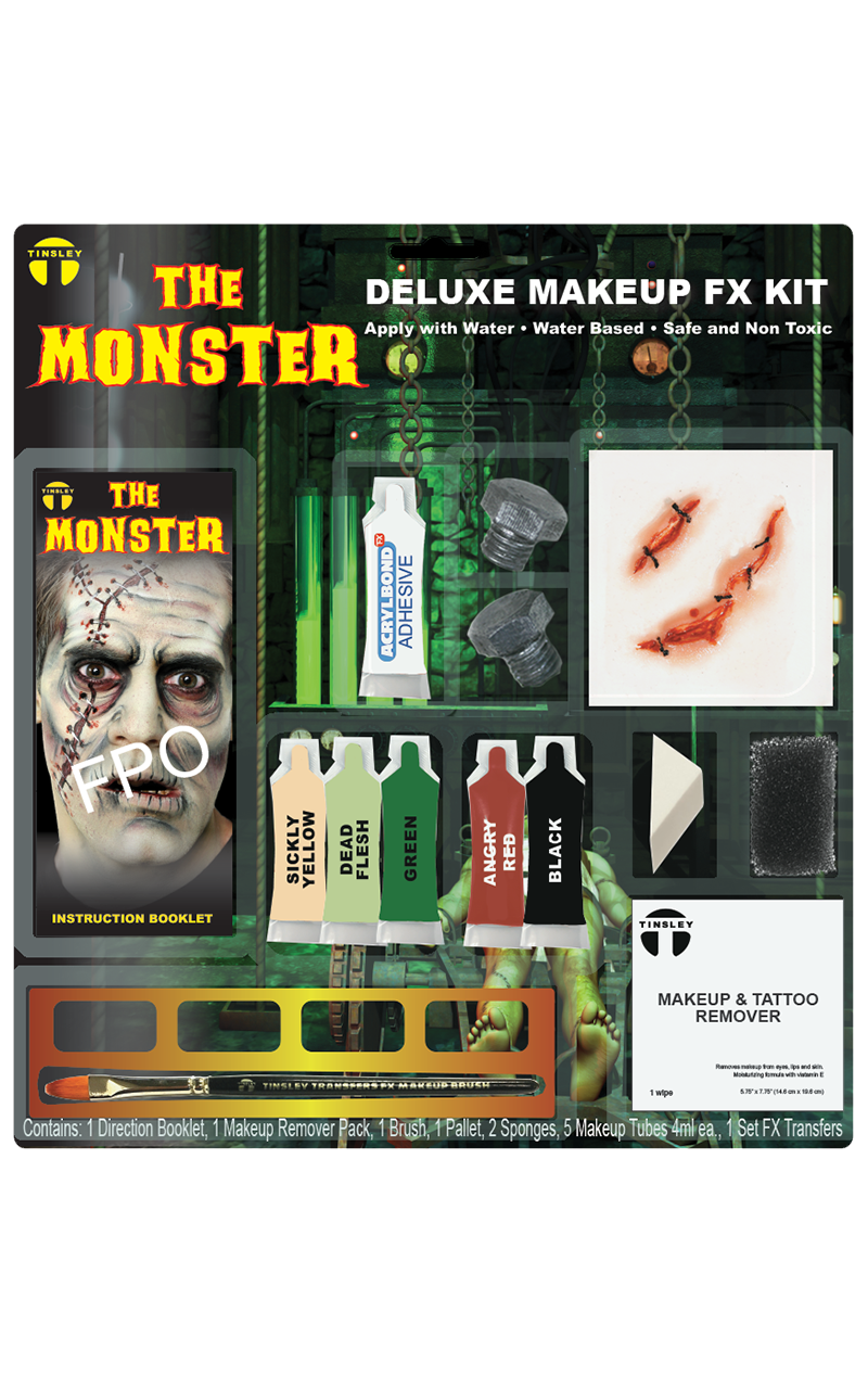 Frankenstein 3D FX Makeup Kit