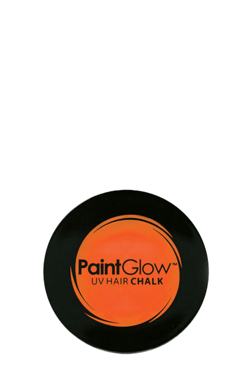 Neon Orange Hair Chalk