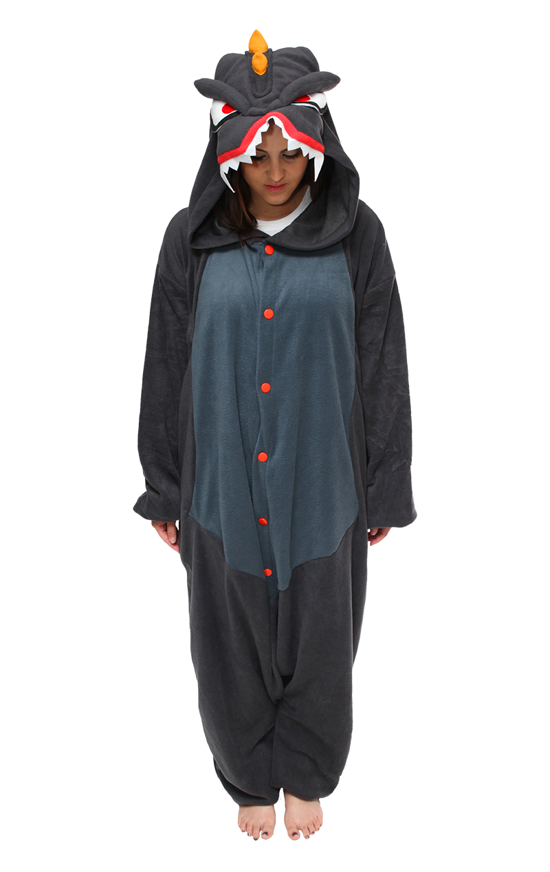 Monster Z Black Onesie Costume