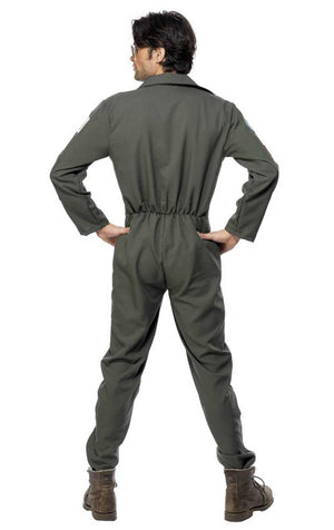 Top Gun Pilot Jumpsuit Costume