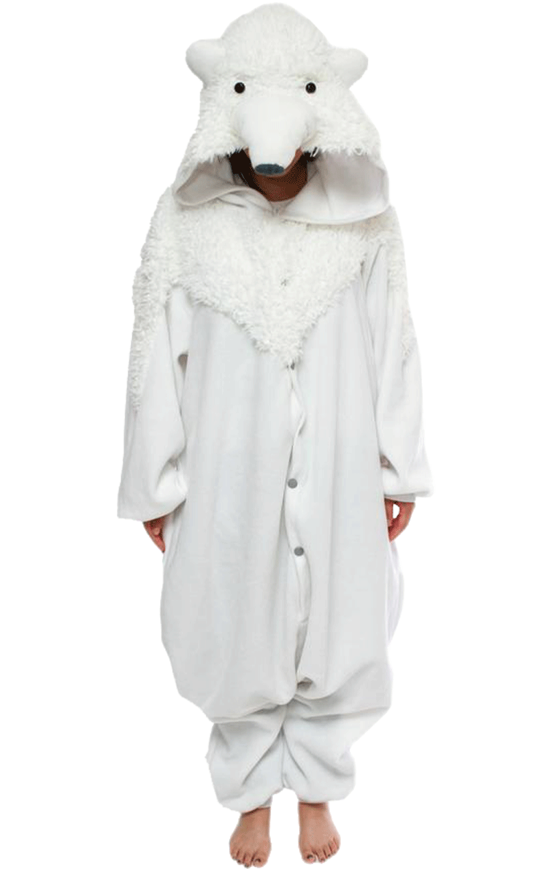 Polar Bear Onesie Costume