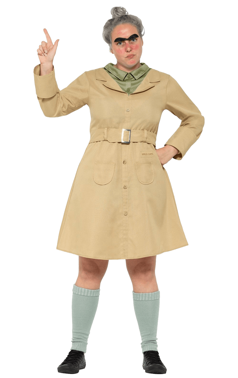 Adult Miss Trunchbull Costume