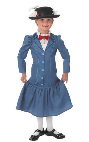 Kids Mary Poppins Costume