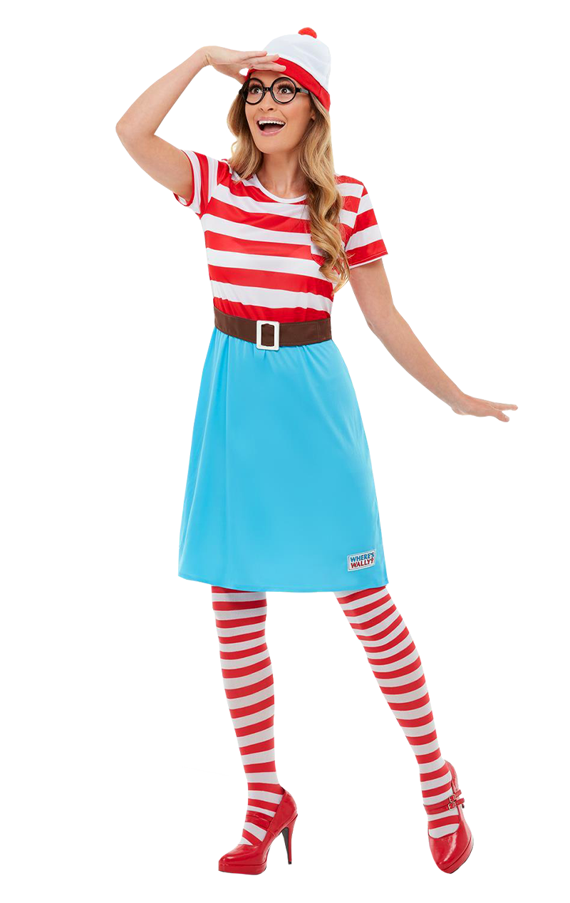 Where's Wally? Wenda Dress Costume