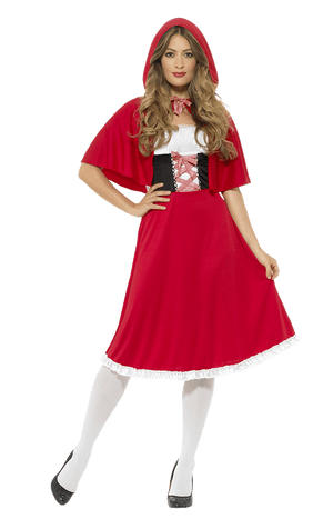 Adult Red Riding Hood Fairytale Costume