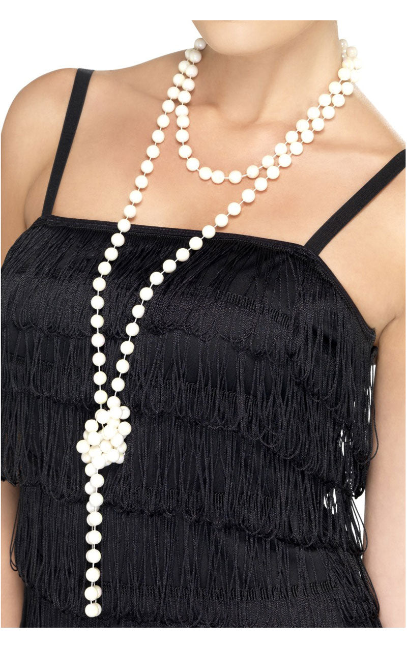 20s White Pearl Necklace