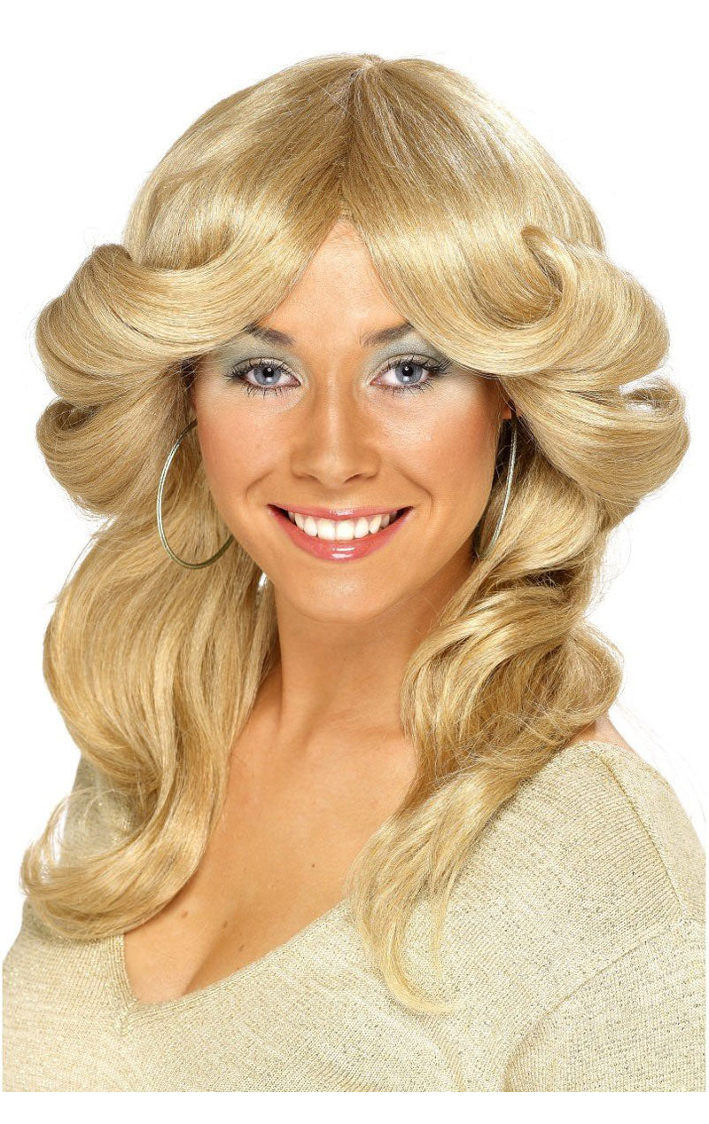 Flick Light Blonde Wig