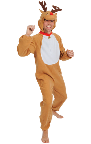 Adult Red Nose Reindeer Costume